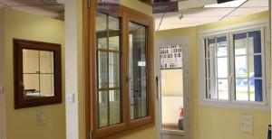 fenêtres bois, pvc ou alu showroom cholet