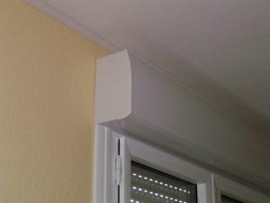 coffrets de volets roulants éléctrique - vue interieure - rénovation maison
