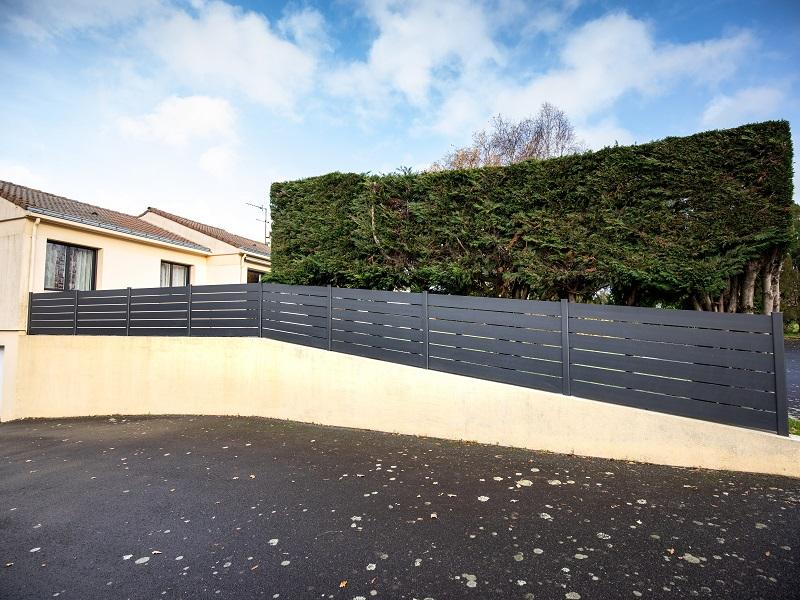 installation clôture à Cholet