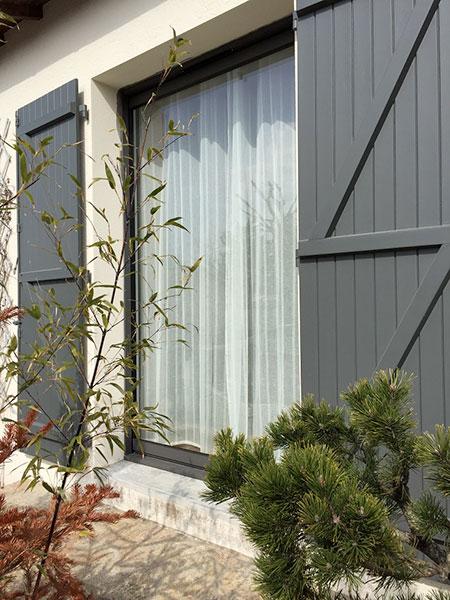Volets battant porte fenêtre