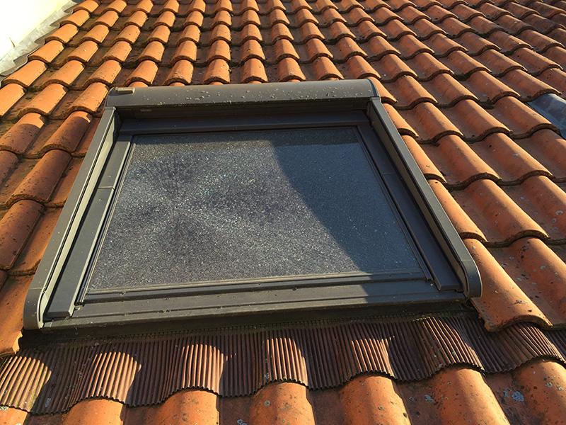 velux cassé - dépannage et changement de fenêtre de toit