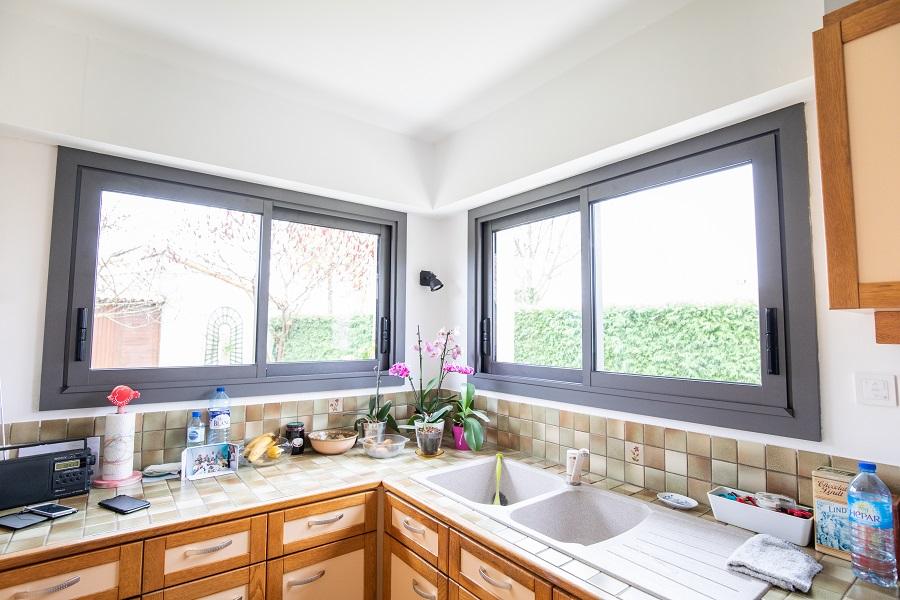 fenêtre de cuisine à Cholet