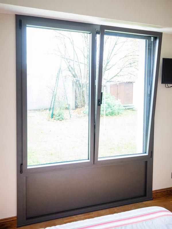 Grande fenêtre à Cholet
